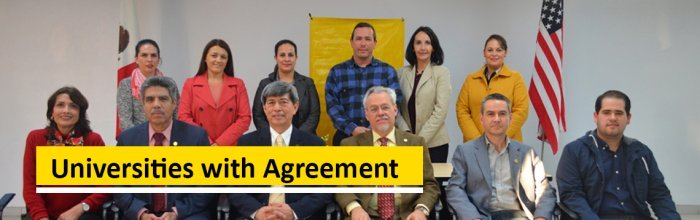 Universities with Agreement
