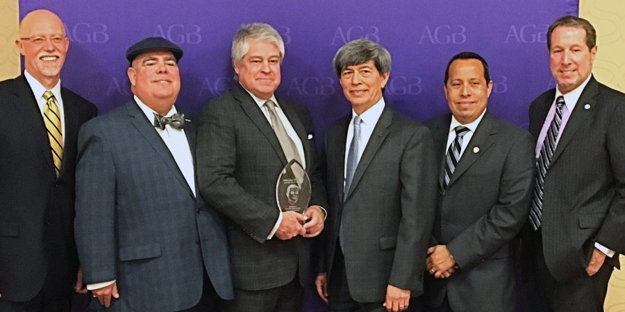 CETYS UNIVERSITY BOARD OF TRUSTEES, FIRST OUTSIDE THE US TO BE HONORED BY AGB