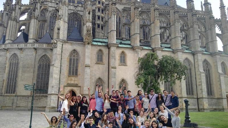 20 of our Undergraduate Students participated in a Summer Stay in Prague