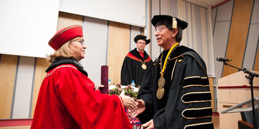 CETYS President receives Doctor Honoris Causa Degree in Europe