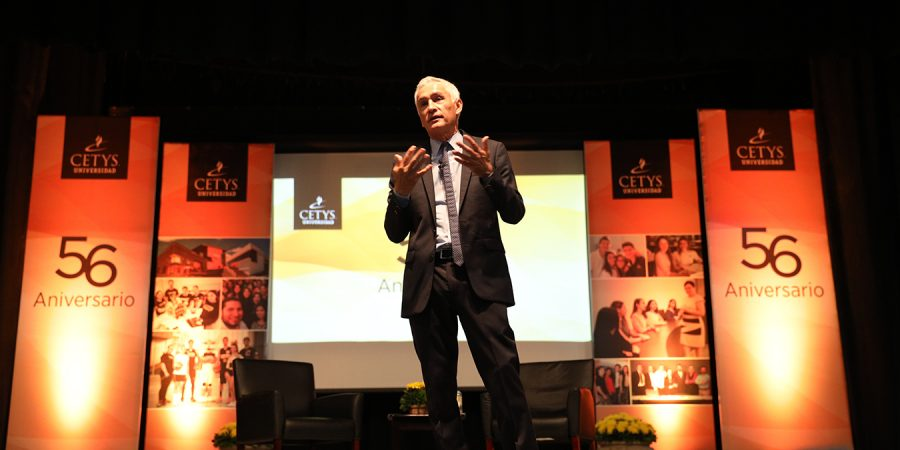 CETYS and Jorge Ramos join forces for Mexico