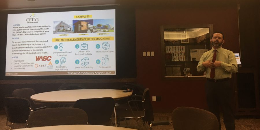 Mexican academic presents successful linkage model at SCSU, Minnesota