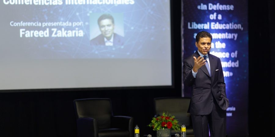 It's important to understand technology, but it's more important to understand the human being: Fareed Zakaria