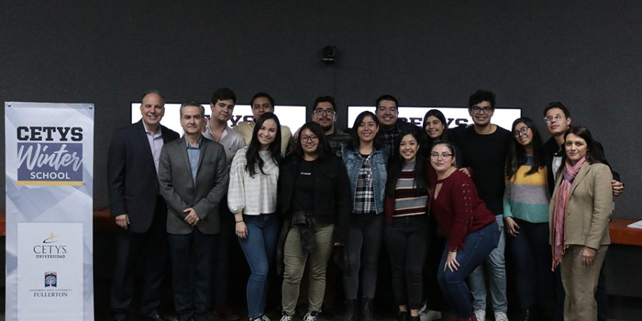 Winter School concludes, first international program of 2020 at CETYS Ensenada