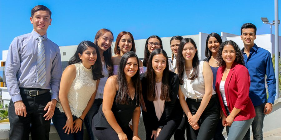 Student leaders from CETYS Ensenada participating in the UN social equality project