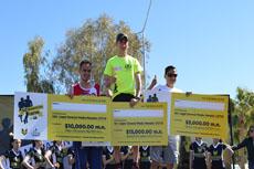 """Daniel """"Pollito"""" Valdez conquista el Medio Maratón CETYS"""