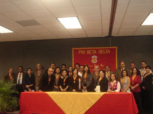 Realizan Ceremonia Phi Beta Delta