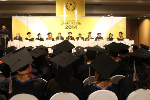 Ceremonia de Graduación de 2014