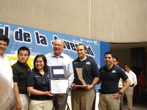 Recibe Premio Estatal al Merito Civico Grupo SELIDER Mexicali