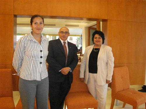 Maestra de CETYS Visita Incubadora Empresarial de la UPAEP