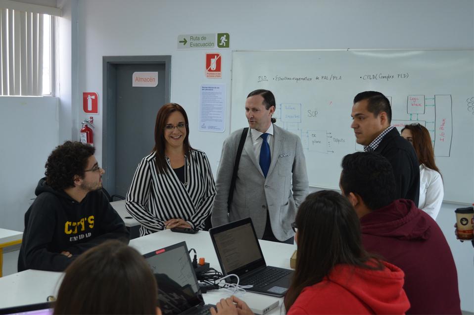 Vicerrector de España visita CETYS