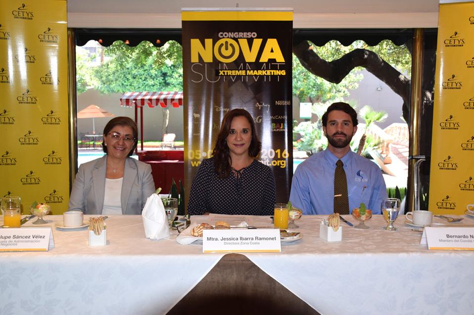 Busca Congreso Nova ser referente del Marketing