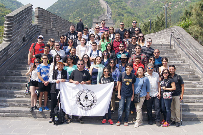 Viven experiencia internacional en China