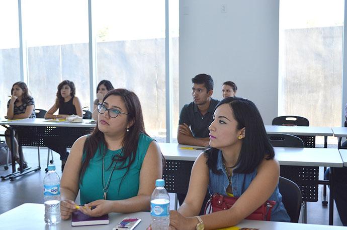 También conocieron algunos aspectos relevantes del campus y procesos administrativos