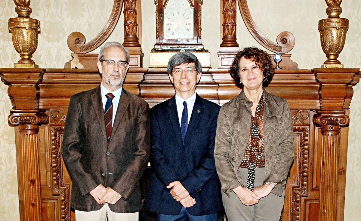 Fortalecen lazos con España y Colombia