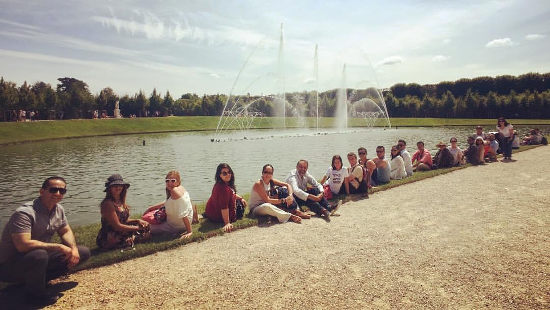 Además de la experiencia académica, los próximos maestros recorrieron puntos culturales de la capital de Francia.