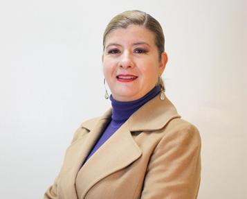 Mtra. Castro Camacho, Académica de la Escuela de Administración y Negocios en Campus Tijuana.