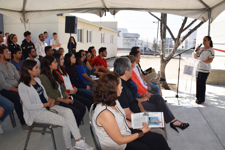 En la inauguración se contó con la asistencia de la comunidad estudiantil.