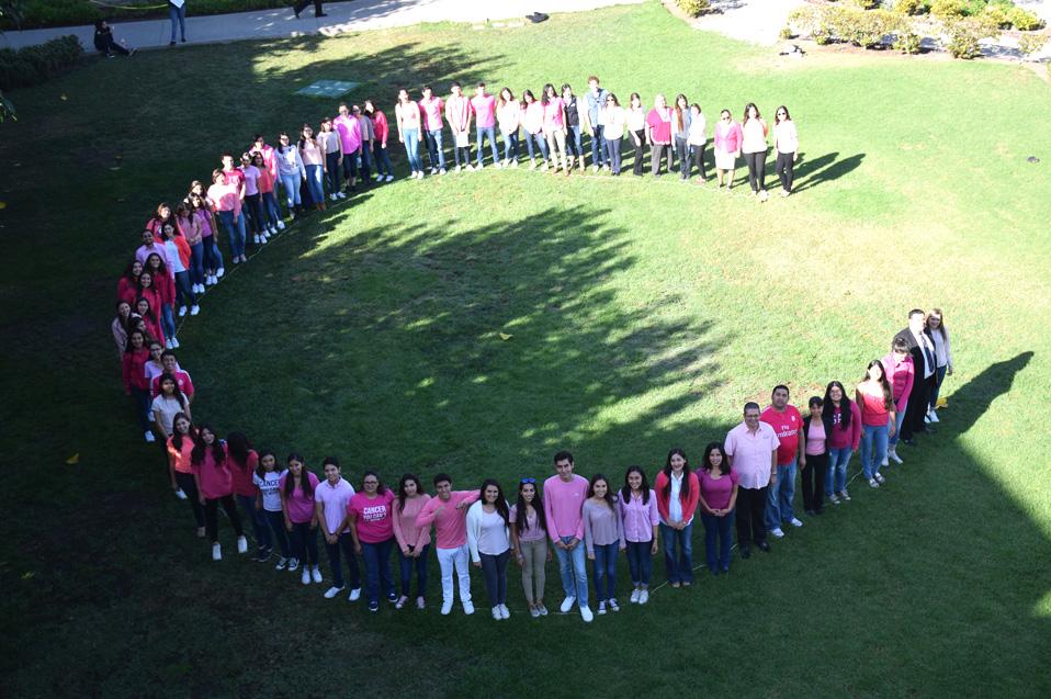 Visten de rosa al Campus Tijuana