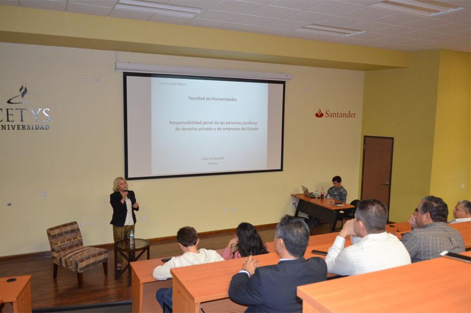 Exitosa Conferencia de Derecho en CETYS