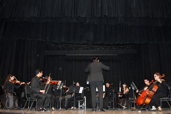 Participa Orquesta de Cámara en Festival Sinfónico
