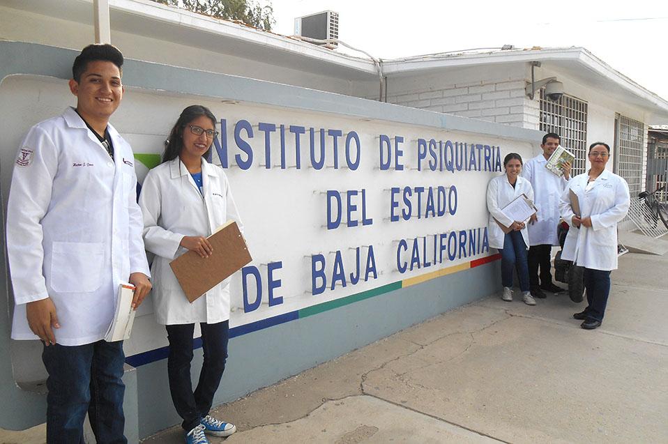 Visitan alumnos Instituto de Psiquiatría