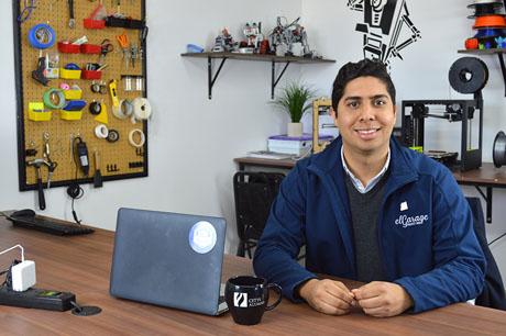 Andrés Ruelas; Joven emprendedor y Orgullo CETYS