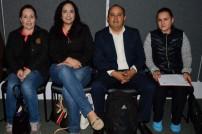 Karina Garza, Mariné Ortega, Abraham Higuera y Yuraci Guerrero Romo.