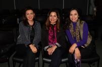 Rocío Amador, Kennya Vargas y Daniela Espinoza.