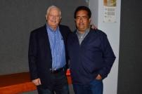 Ricardo Thompson y Guillermo Rojas.