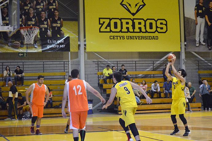 Lista delegación de Zorros para Universiada Regional