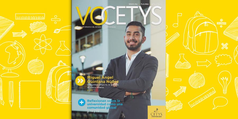 ¡Nos renovamos!  No puedes perderte la edición 31 del VoCETYS Impreso