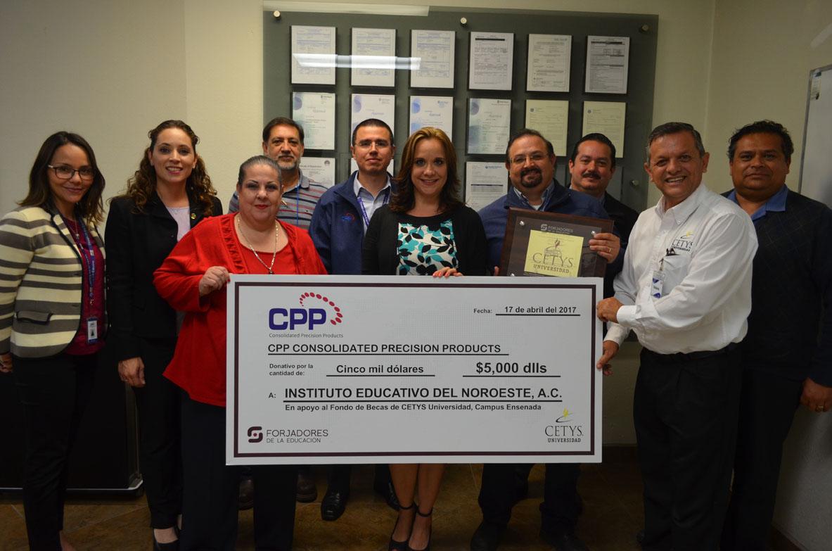 Directivos de CETYS firman convenio con CPP
