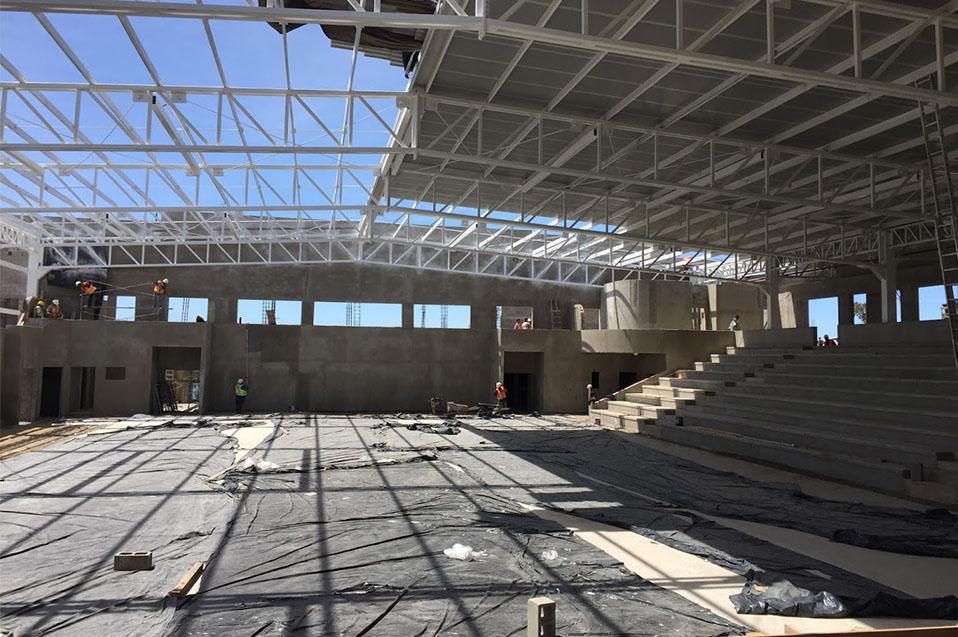 Gimnasio Auditorio dará servicio de calidad a Ensenada