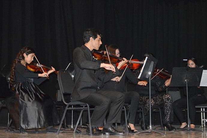 Participa Orquesta de Cámara en Caborca