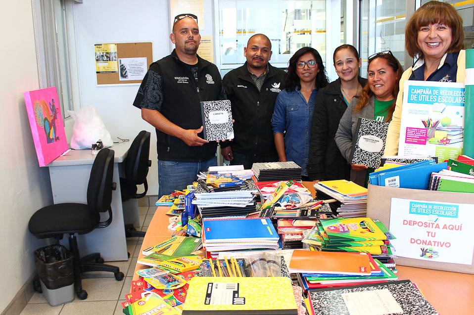 Preparatoria CETYS apoyará a la comunidad con útiles escolares