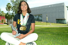 Martha Sandoval, una nadadora hacia la cima