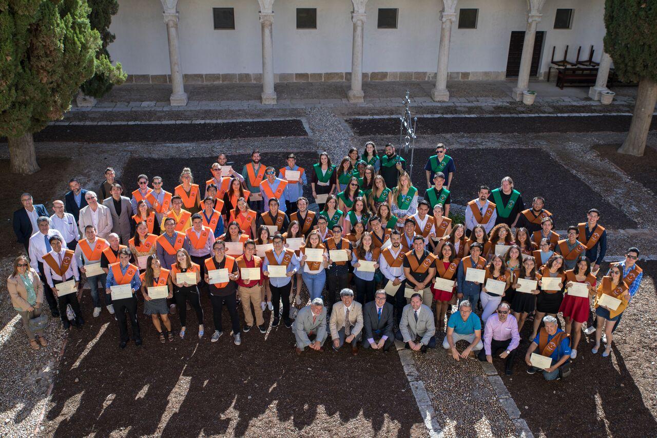 Alumnos de CETYS celebran clausura de cursos de verano en España