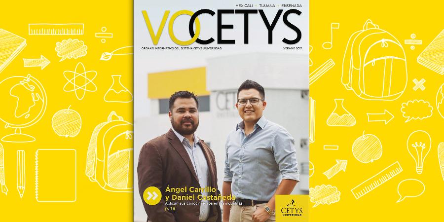 Ángel Carrillo y Daniel Castañeda aplican sus conocimientos en las industrias