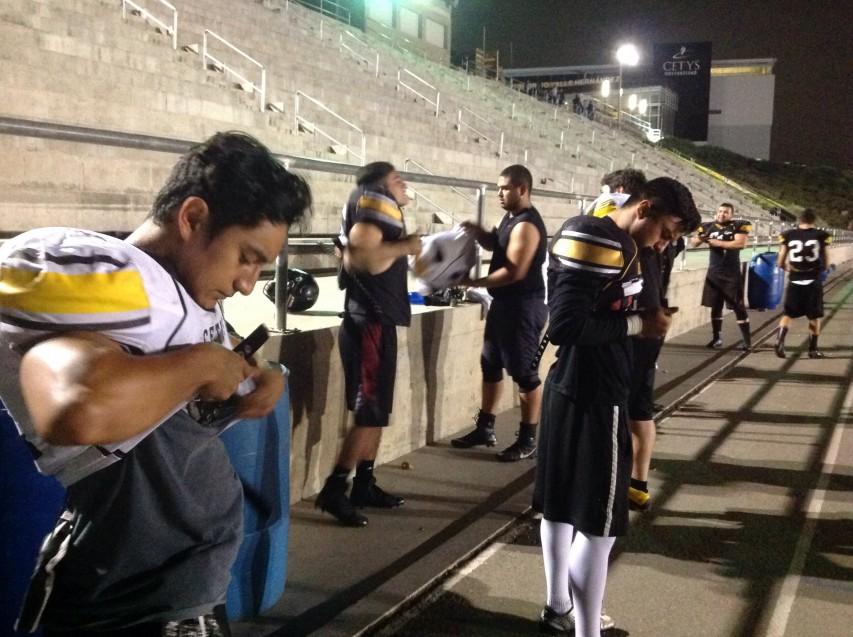Jugadores dejan atrás la derrota ante Zorros Mexicali.