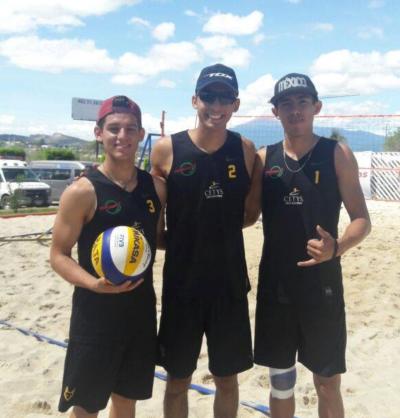 Jaime López Gaxiola, Mauro Isaac Fuentes y Christian A. Ventura.