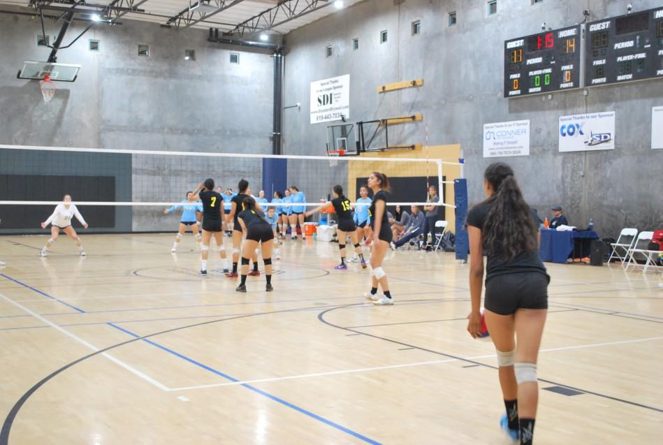 Duelo de voleibol entre CETYS Universidad y San Diego Christian