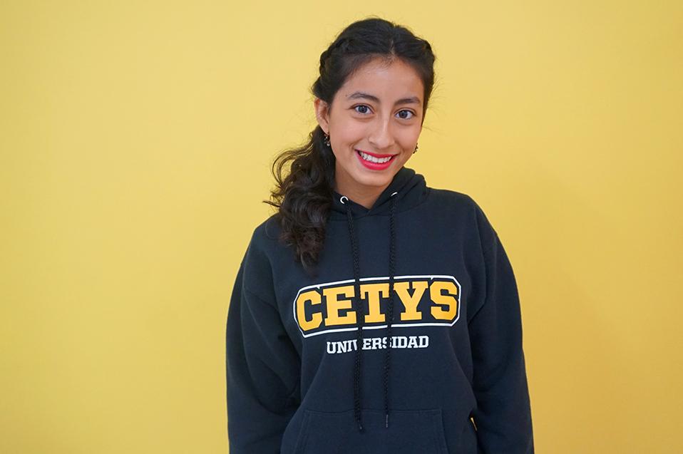 Andrea Gómez una booktuber del BI de la Prepa CETYS