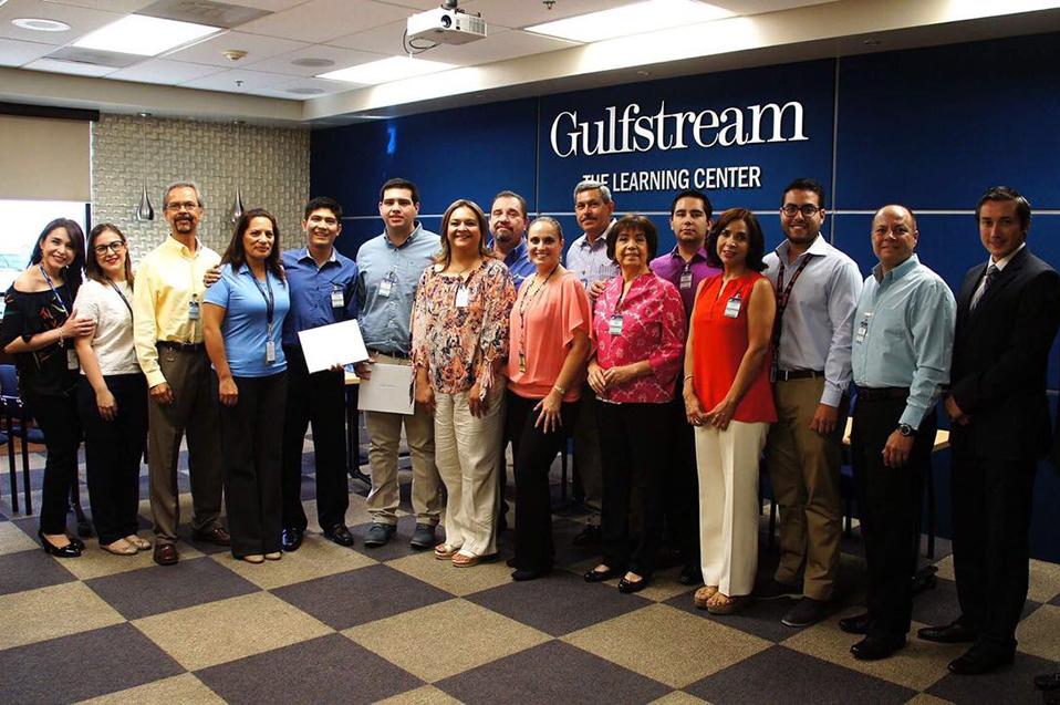 Gulfstream confía en semillero de profesionistas CETYS