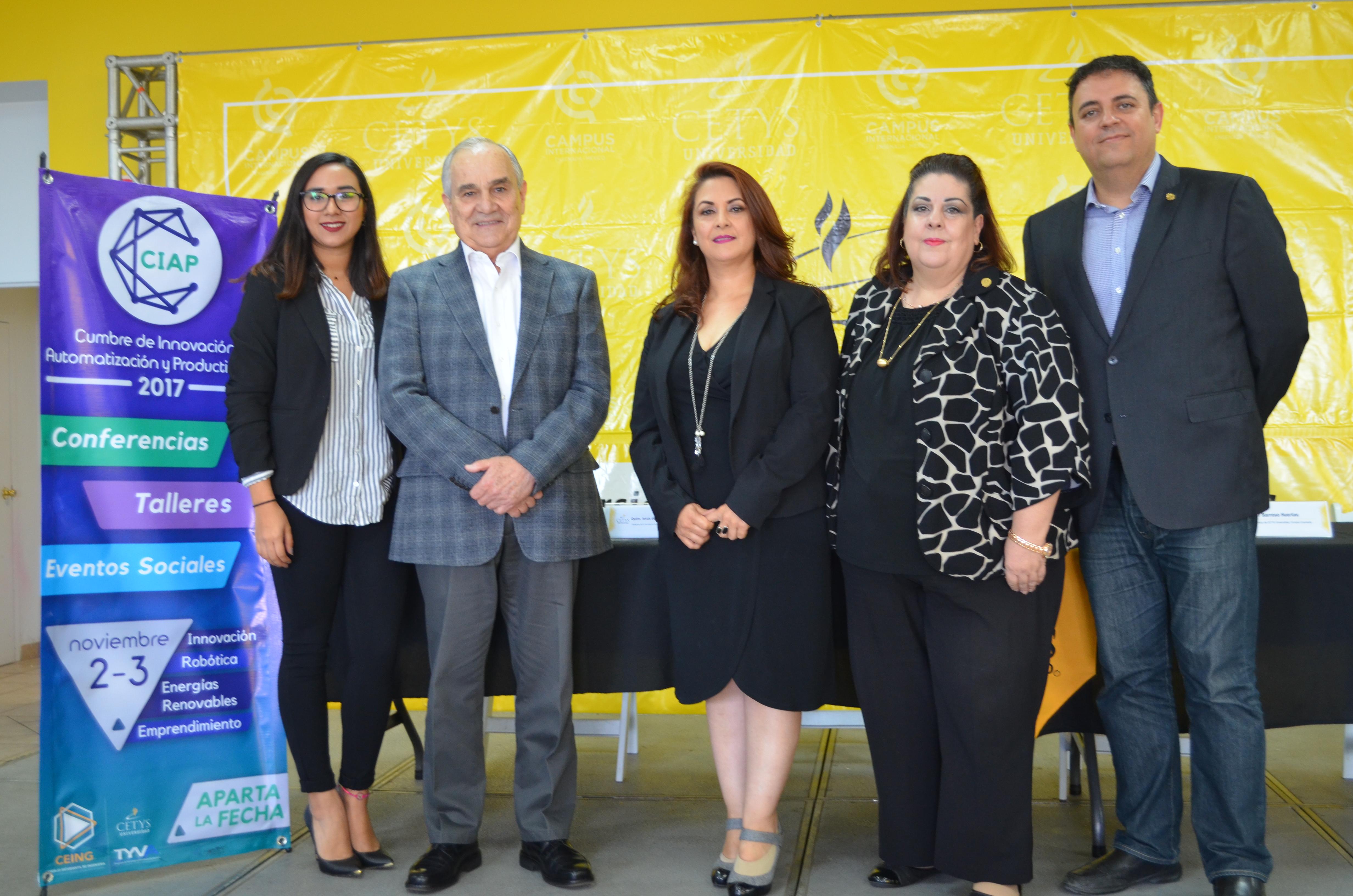 """Alumnos de CETYS reciben llamado a la """"Innovacción"""" en el evento CIAP 2017"""