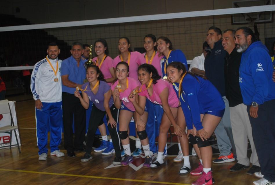 Club BC, campeon estatal y reforzado con 4 jugadoras de CETYS Universidad.