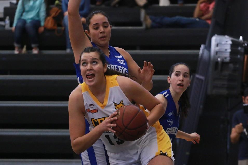 """""""Anáhuac y UVM no son equipos fáciles de vencer"""", dijo Myriam Lara (13)."""