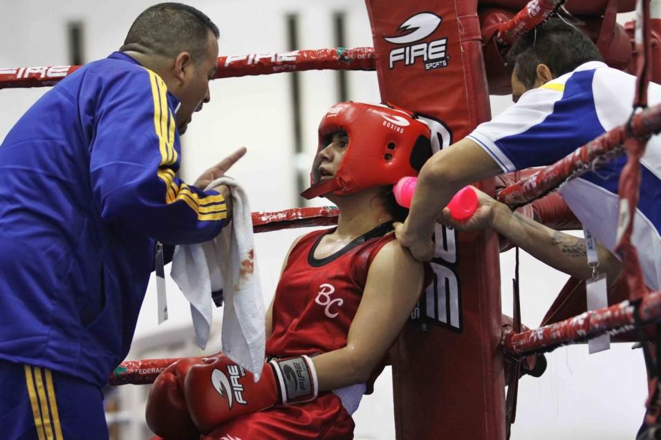 La boxeadora es estudiante de Derecho en Campus Tijuana.