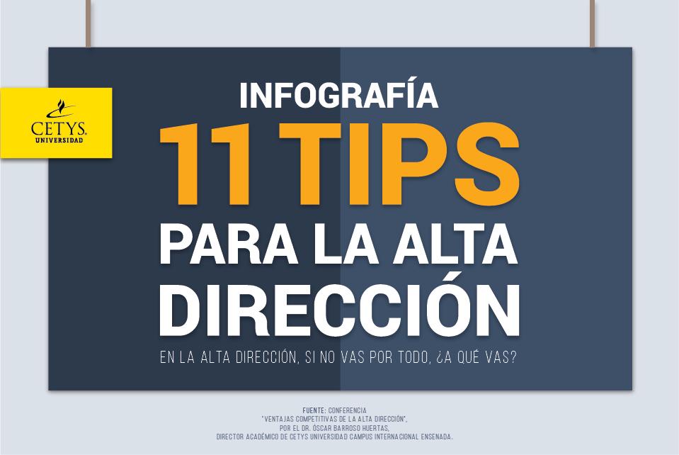 11 tips para la Alta Dirección