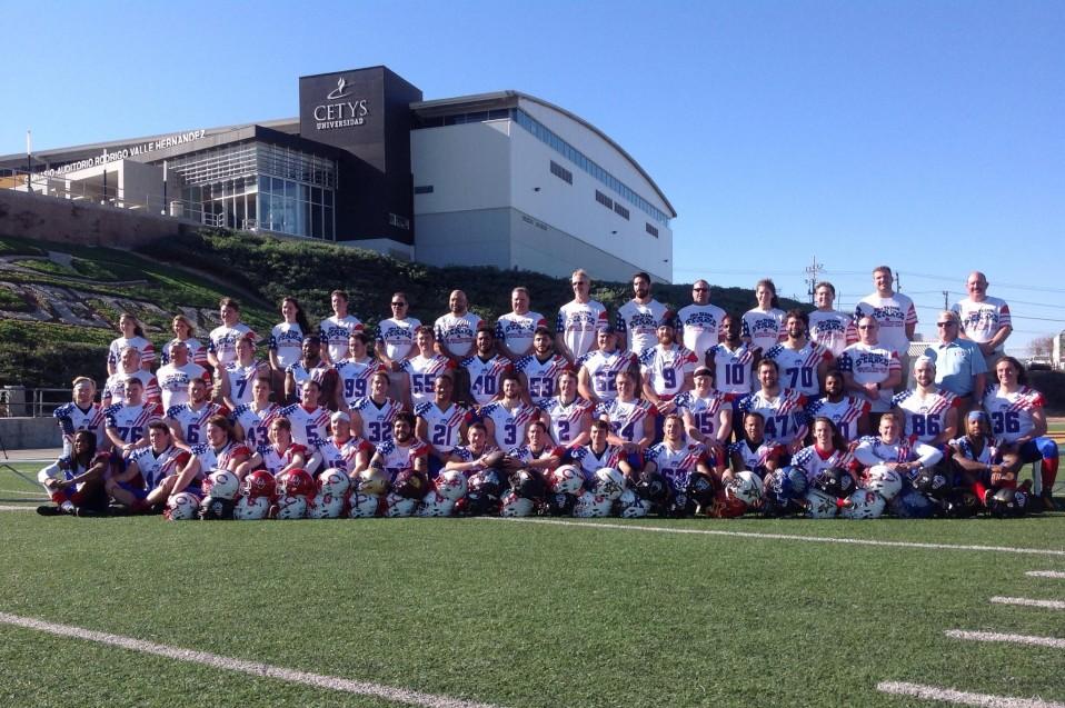 Team Stars & Stripes se tomó la foto oficial.